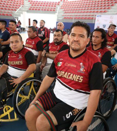 Realizan en Playa del Carmen Torneo Internacional de Baloncesto sobre silla de ruedas