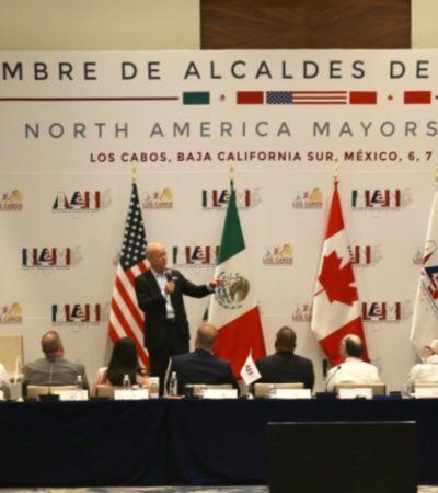 Participa Laura Beristain en Cumbre de Alcaldes de América del Norte