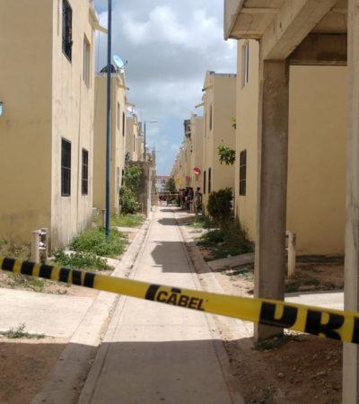 EJECUTADO Y EMBOLSADO EN VILLAS OTOCH PARAÍSO: Encuentran cuerpo con dos balazos en el interior de un domicilio en la SM 259 de Cancún