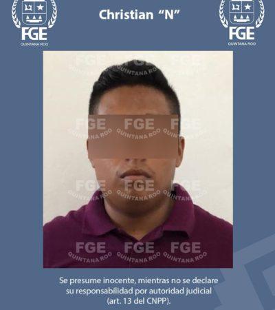 Detienen a implicado en el asesinato de una persona hallada embolsada en departamento de Villas Otoch Paraíso