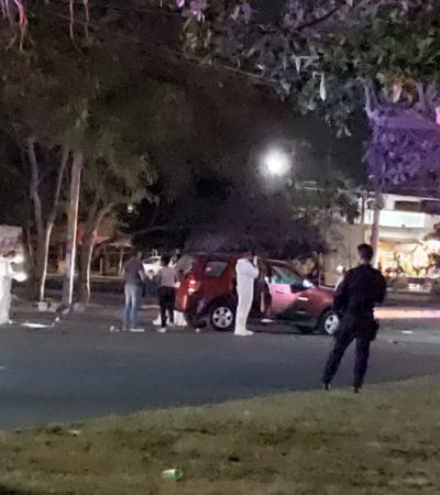 SEGUIMIENTO | SUMAN CINCO HERIDOS POR ATAQUE A POLICÍAS: Confirman tres hombres y dos mujeres heridas en atentado en Cancún; difunden video