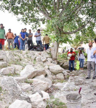 Con inversión de un millón de pesos, inicia construcción de segunda etapa de la ciclovía en la comunidad de Cobá
