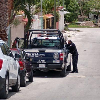 Muere policía municipal al sufrir caída accidental de la azotea de su casa, en Cancún
