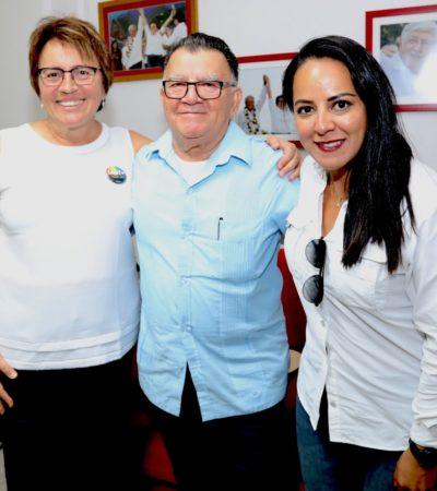 Afinan preparativos para próximo visita de López Obrador a Playa del Carmen