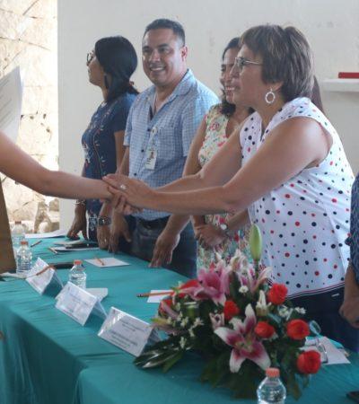 Asiste Alcaldesa a graduación de estudiantes de Bachilleres en Puerto Aventuras