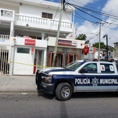 INTENTAN ROBAR CAJEROS AUTOMÁTICOS EN CANCÚN: Detienen a uno de los presuntos involucrados en fallido atraco en la Región 90