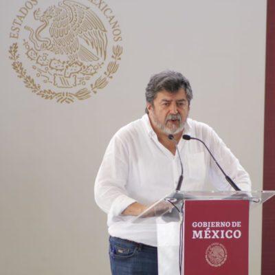 """""""SERÁ UN PASO OBLIGADO HACIA EL NORTE DE QR"""": Tulum sale ganando con el ajuste en la ruta del Tren Maya, asegura Rogelio Jiménez Pons"""