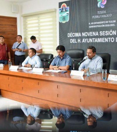 Cabildo de Tulum aprueba que trabajadores del ayuntamiento cuenten con seguridad social