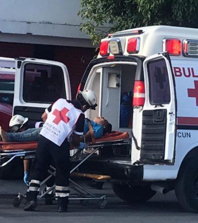 SEGUIMIENTO | Fallece en el hospital comerciante baleado en un intento de asalto en la Región 100 de Cancún la mañana del sábado
