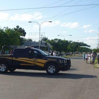 Despliegan operativo antinarcóticos en colonia de Mérida… pero se equivocan de casa