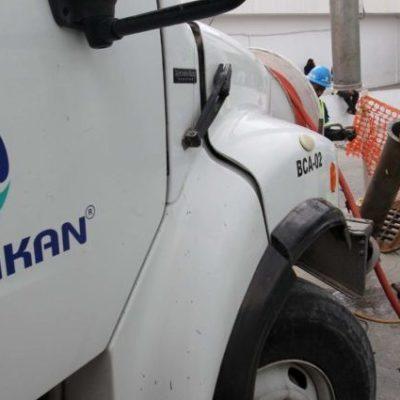 Por renovación de líneas, anuncia Aguakán suspensión del servicio de agua potable en varias colonias de Cancún