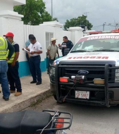 Encuentran cuerpo de un hombre en cárcamo de la colonia Caribe en Chetumal