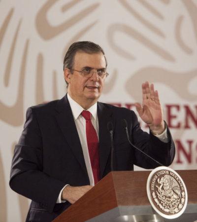 Otorga AMLO a Ebrard la gestión del 'Fondo Yucatán'