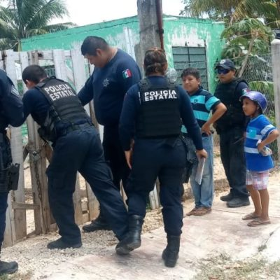 Explosión de bote de aerosol causa movilización policíaca y de bomberos en Chetumal
