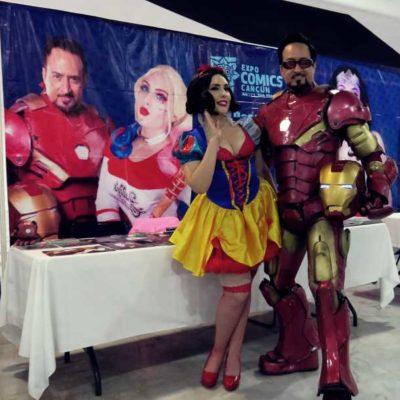 Más de cinco mil personas disfrutaron de las actividades en la Expo Comics Cancún 2019