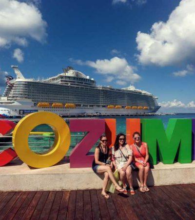Crece 8% el turismo en Cozumel durante mayo, reportaPedro Joaquín