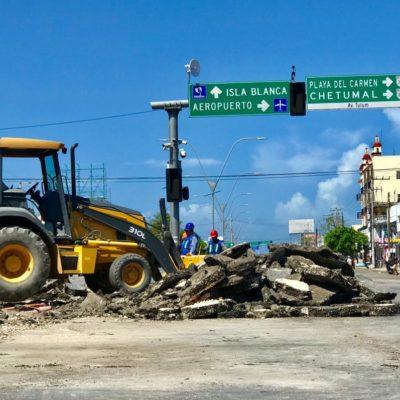 INICIA REHABILITACIÓN DE 'EL CRUCERO':  Obras provocan caos vial en calles aledañas; invierte Gobierno 19 mdp