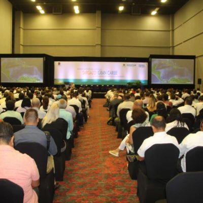 LA INVASIÓN DEL SARGAZO NO CONOCE FRONTERAS: Inicia en Cancún encuentro de alto nivel para enfrentar el recale masivo del alga en el Caribe
