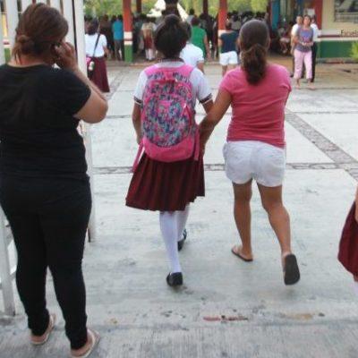 La falta de recursos económicos, el embarazo adolescente y la necesidad de trabajar obliga a jóvenes de QR a abandonar sus estudios