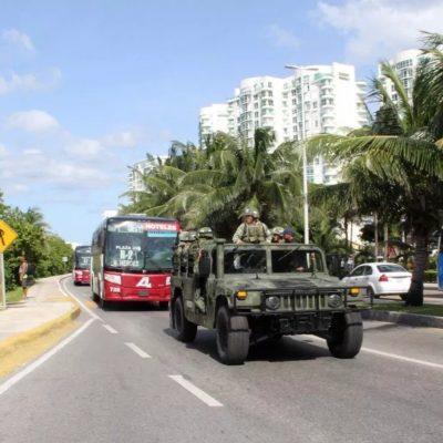 Ejército Mexicano intensificará patrullaje y cateos en la zona norte de QR, donde se ha detectado que operan cuatro células delictivas