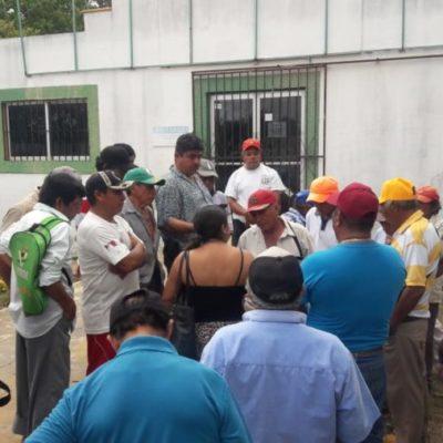 Ejidatarios de José María Morelos toman las oficinas de la Sader para exigir el pago de Procampo