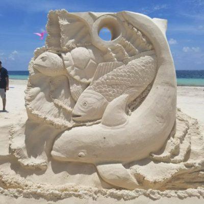 Durante el séptimo Festival de los Océanos, promueven recreación familiar en playas públicas