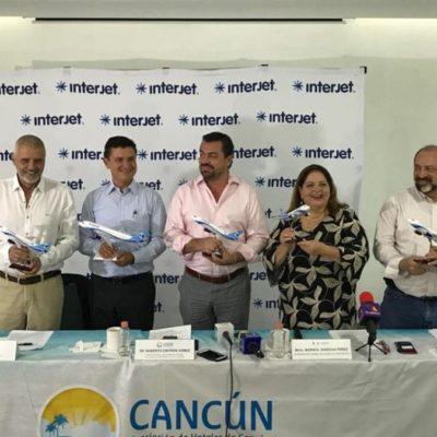 Anuncian nuevos vuelos de Cancún a Medellín, Lima y Guayaquil