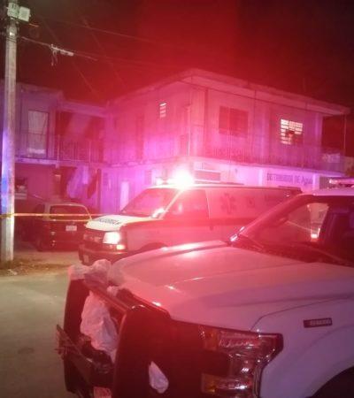 Muere hombre electrocutado en cuartería de Chetumal