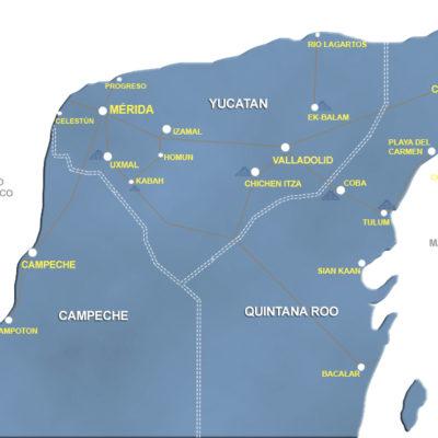 Autoridades estatales esperan ser notificadas de la controversia constitucional interpuesta por Yucatán por conflictos limítrofes