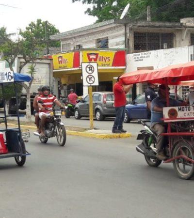 Mototaxistas de José María Morelos están dispuestos regularizarse, pero no están incluidos en la Ley de Movilidad, asegura dirigente