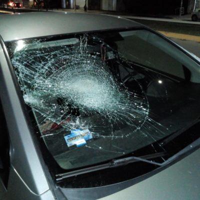 TRÁGICO ACCIDENTE EN LA REGIÓN 227: Muere mujer al ser atropellada, el esposo está grave