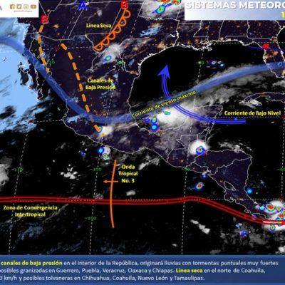 PRONÓSTICO DEL CLIMA: Continuará el calor en Quintana Roo