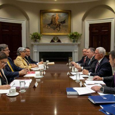 ¿NEGOCIACIÓN PÍRRICA DE AMLO?: Tras amenazas y amagos de Trump, anuncian acuerdo entre México y EU para evitar la imposición unilateral de aranceles
