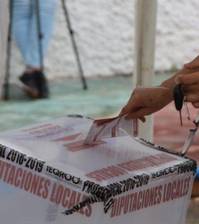 CONFIRMA PREP TRIUNFO DEL ABSTENCIONISMO EN QR: Con una votación de 22.15%, la alianza Morena-PT-PVEM se lleva 11 diputaciones contra 3 del PAN-PRD-PES y 1 del PRI