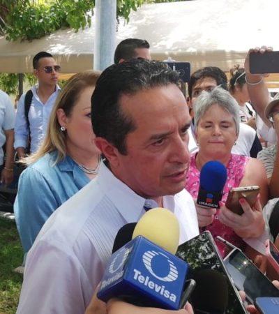 Carlos Joaquín admite poca participación de ciudadanos en la jornada electoral