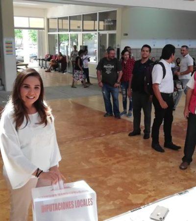 Opina Mara Lezama que retraso en la apertura de casillas es factor para que ciudadanos no voten
