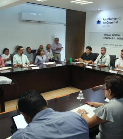 Aprueba Cabildo la modificación del Presupuesto de Egresos de Cozumel