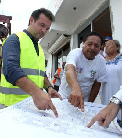 Realizan rehabilitación, construcción y desazolve de pozos en Cozumel