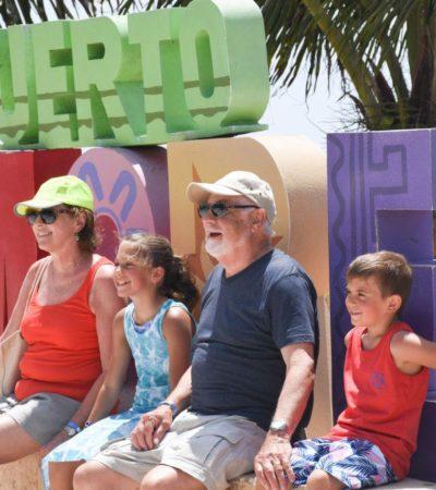Registra Puerto Morelos un excelente fin de semana en materia turística