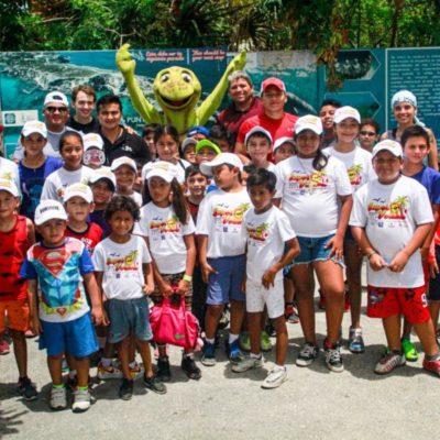 """Aprenden niños mientras se divierten en los cursos """"Súper Verano 2019"""" en Isla Mujeres"""
