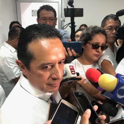 """LANZA GOBERNADOR ADVERTENCIA: Espera Carlos Joaquín que OPB """"cambie de actitud"""" sobre el 'Mando Único' para no tener que asumir el control de la policía por decreto como en Solidaridad"""