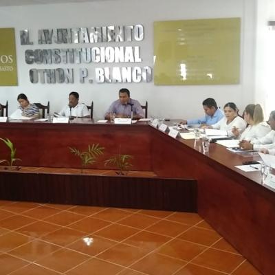 Ponen en evidencia regidores y síndico municipal en Cabildo de Othón P. Blanco ingobernabilidad y desconocimiento de leyes del alcalde Otoniel Segovia Martínez en Chetumal