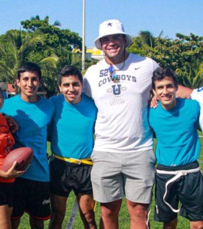 """Connor Williams participa en la inauguración del """"Isla Mujeres Bowl 2019"""""""
