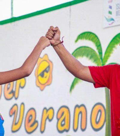 """Gobierno municipal inaugura el curso """"Súper Verano 2019"""" para niñas y niños de Isla Mujeres"""