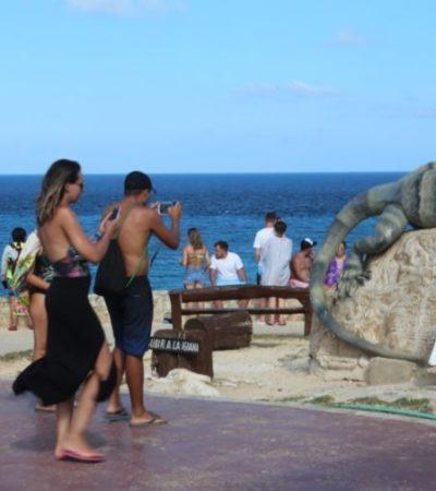 Arribo de turistas a Isla Mujeres aumenta gracias a la promoción turística del gobierno municipal
