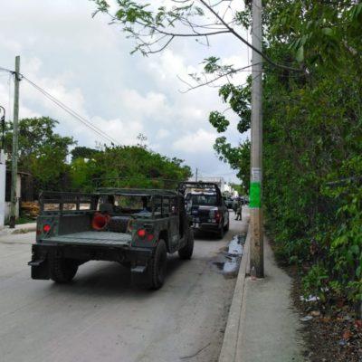 Sujetos armados secuestran a persona con todo y vehículo en la SM 313 de Cancún