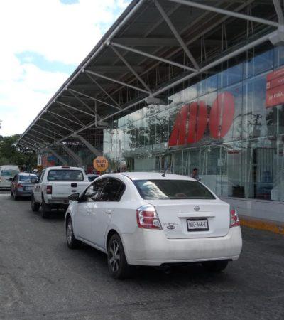 Abandonan maletas con 43.5 kilos de marihuana en la terminal de autobuses de Cancún