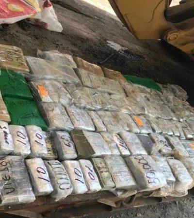 Los delata el nerviosismo y caen con casi 1.5 millones de dólares y 3.5 millones de pesos en Tamaulipas