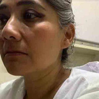 VIDEO | Paciente herido con arma blanca golpea a enfermeros que lo preparaban para una cirugía