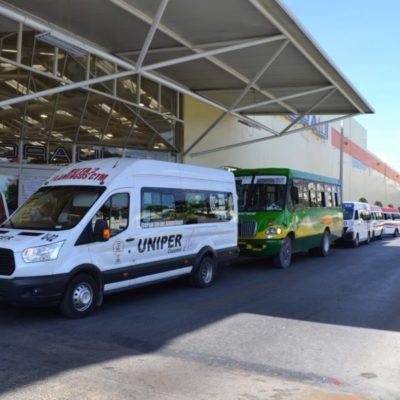 Aprueban incremento de tarifa del transporte público en Cozumel